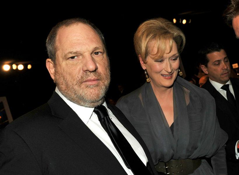 Harvey Weinstein er aðalpersónan í mörgum reynslusögum kvenna í Hollywood.