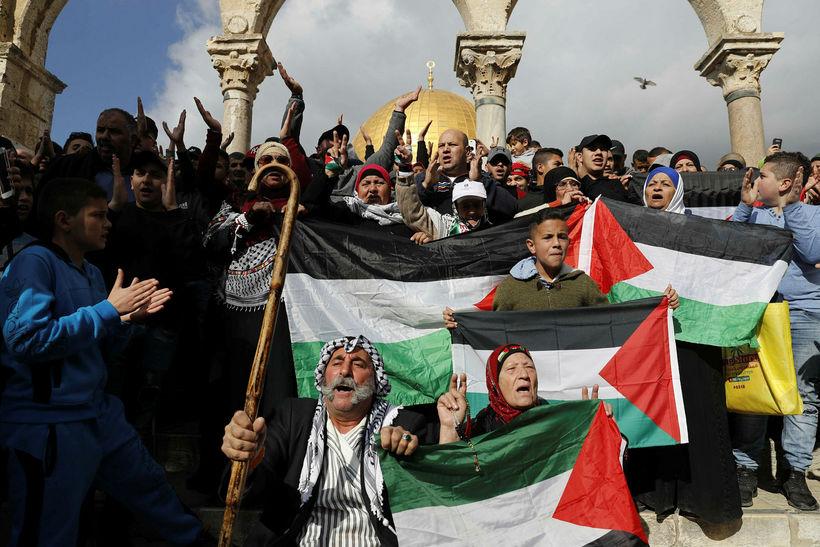 Palestínuflóttamannaaðstoð Sameinuðu þjóðanna (UNRWA) styður við yfir fimm milljónir palestínskra ...