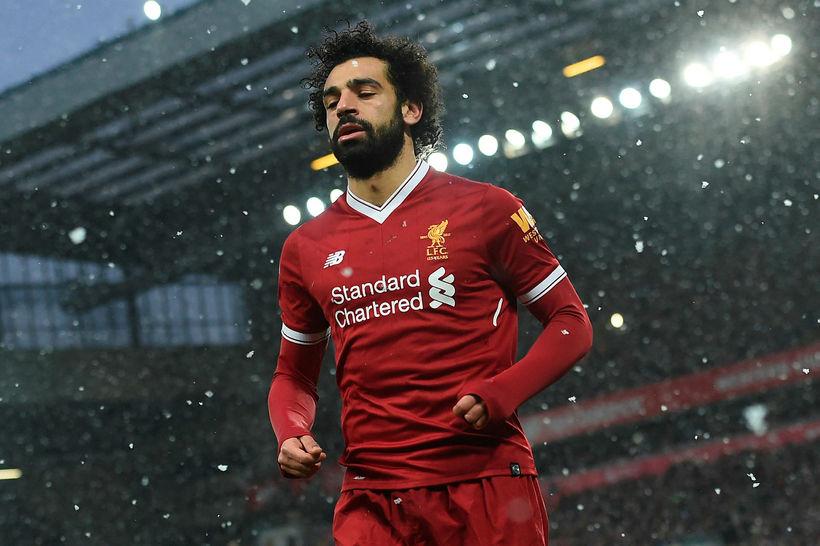 Mohamed Salah hefur skorað 19 mörk í 24 leikjum Liverpool ...