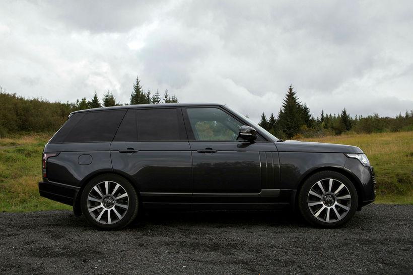 Range Rover - Reynslu akstur