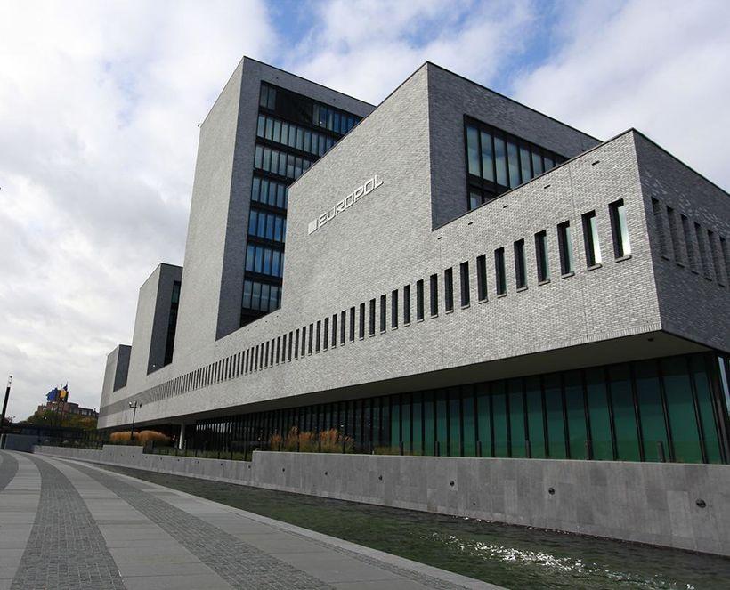 Höfuðstöðvar Europol í Haag í Hollandi.