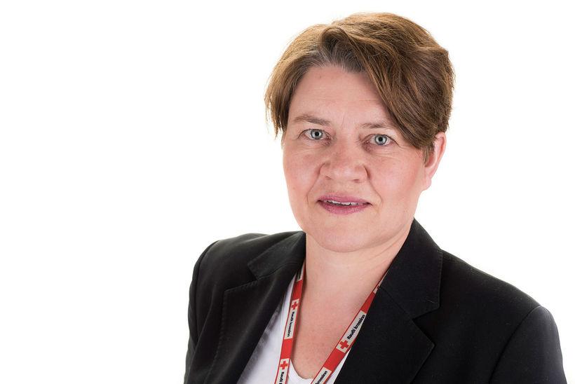 Kristín S. Hjálmtýsdóttir, framkvæmdastjóri Rauða krossins.