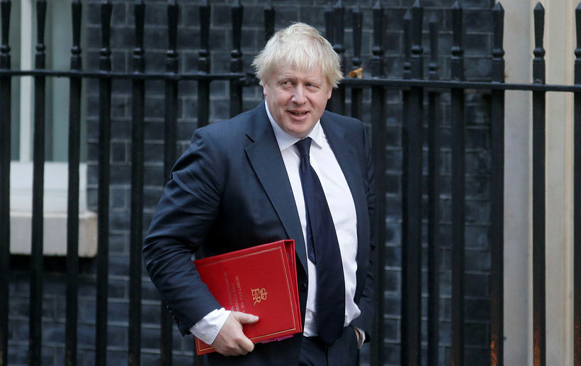 Boris Johnson, utanríkisráðherra Bretlands.