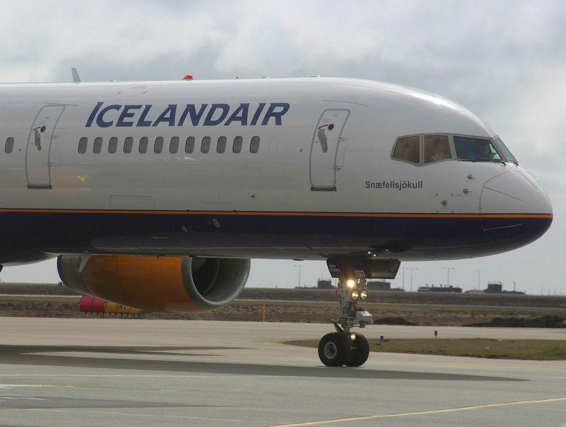 Boeing 757-þota Icelandair.