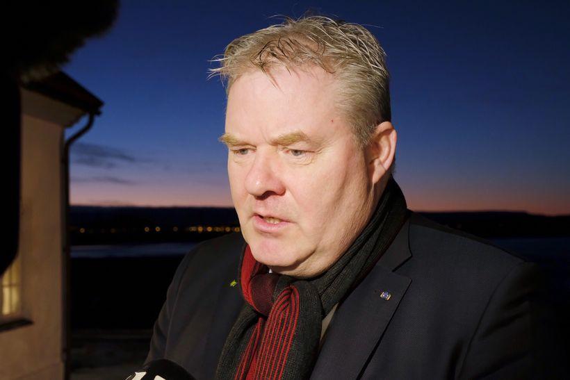 Sigurður Ingi Jóhannsson samgönguráðherra.