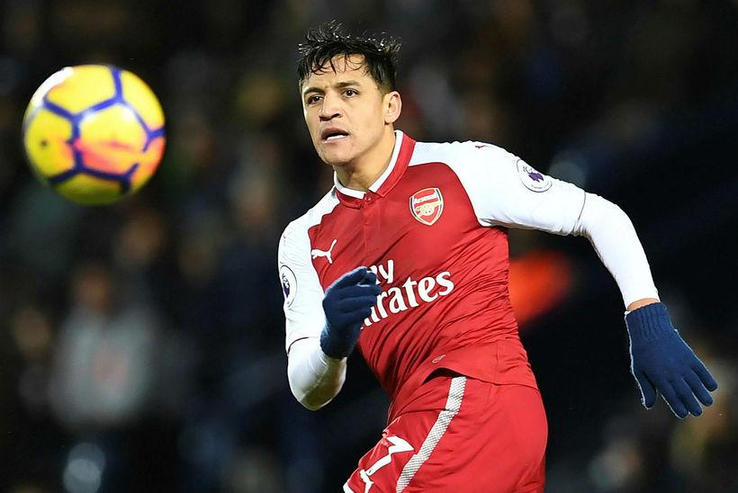 Alexis Sánchez sóknarmaður Arsenal.