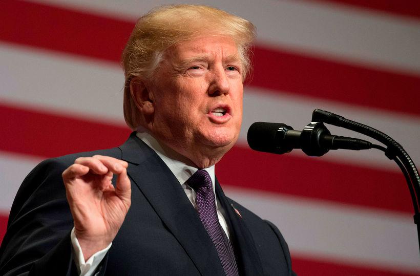 Donald Trump, forseti Bandaríkjanna, segir fyrrverandi ráðgjafa sinn, Stephen Bannon, ...