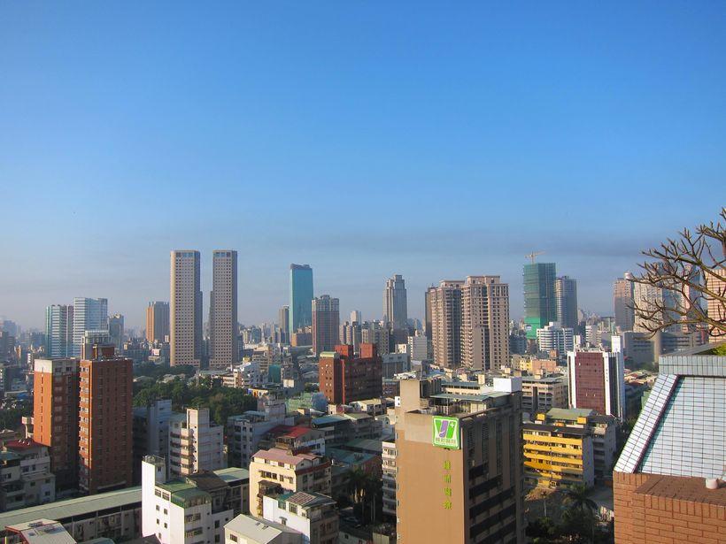 Frá borginni Taichung í Taívan.