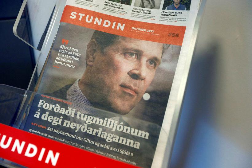 Lögbannsmál Glitnis gegn Stundinni og Reykjavík Media var tekið fyrir ...