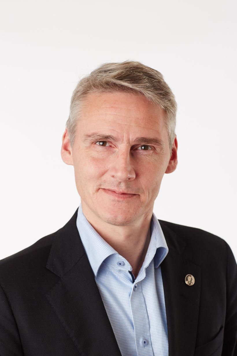 Høgni Hoydal, sjávarútvegsráðherra Færeyja.
