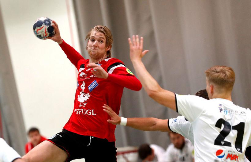 Elvar Ásgeirsson er einn af lykilmönnum Aftureldingar.
