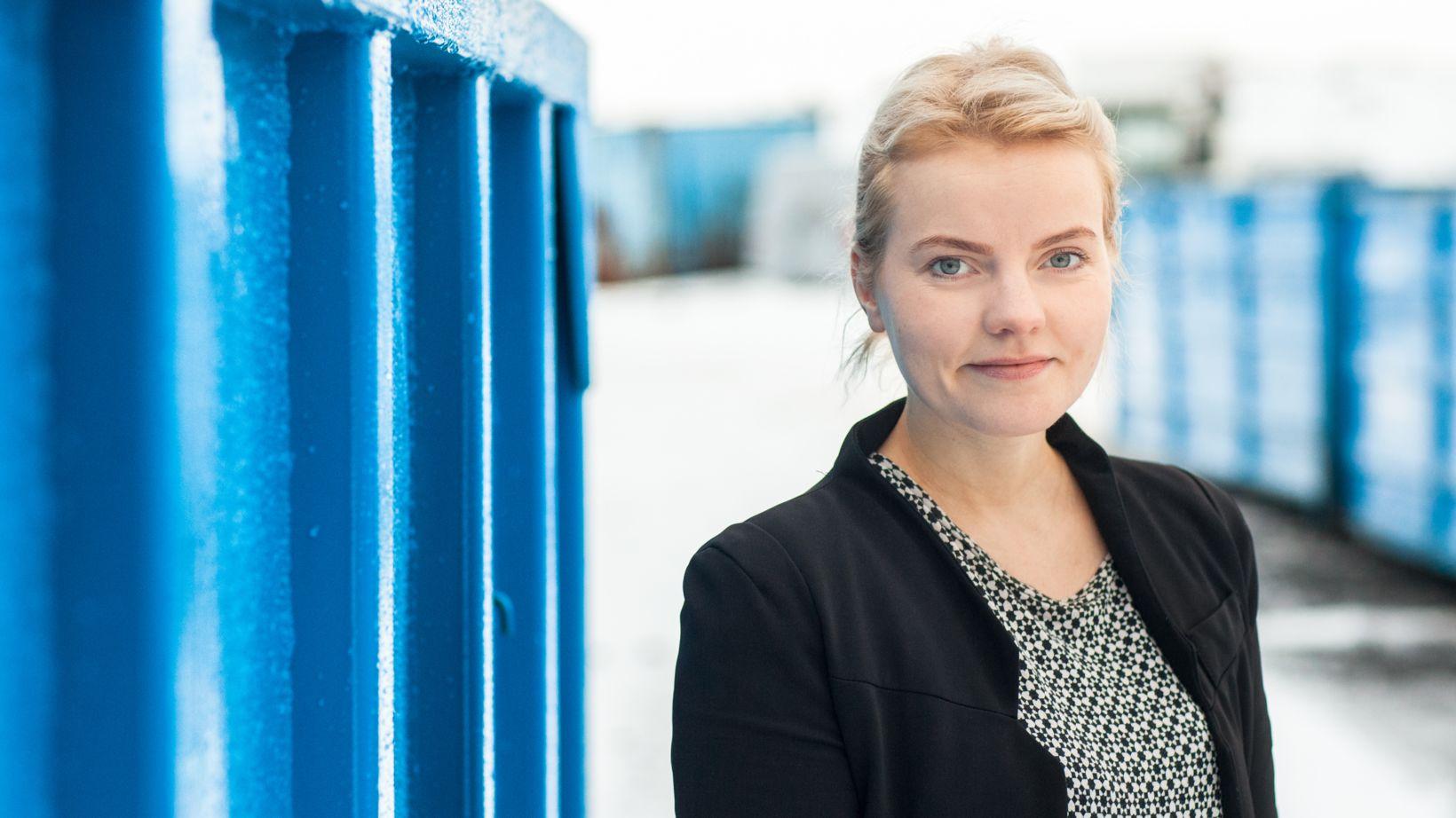 Líf Lárusdóttir markaðsstjóri Terra segir það magn sem fyrirtækinu berst ...