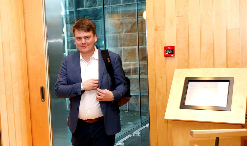 Andrés Ingi Jónsson, þingmaður VG.