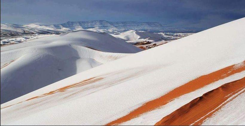Þessi mynd var birt á ferðavefnum Discover Algeria.