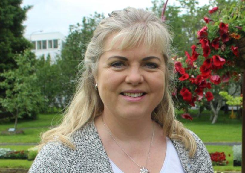 Aldís Hafsteinsdóttir, bæjarstjóri i Hveragerði.