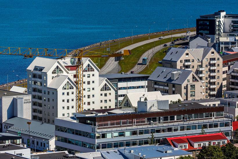 Af seldum íbúðum á höfuðborgarsvæðinu í maí voru 80% þeirra ...