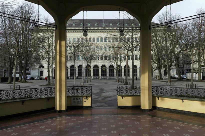 Höfuðstöðvar bankans í Zürich.