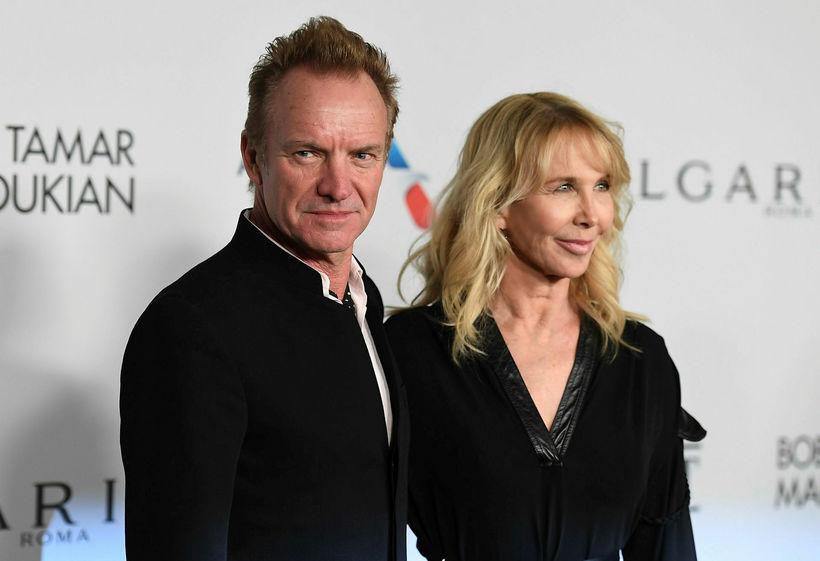 Sting og Trudie Styler.
