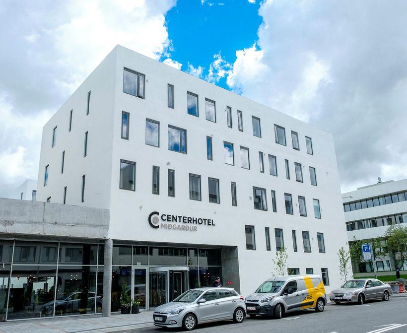 Á Center-hótel Miðgarði við Hlemm eru samtals 170 herbergi.