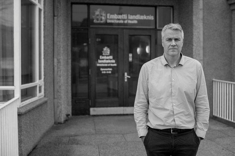 Ólafur B. Einarsson hjá embætti landlæknis segir að flestir þeirra ...