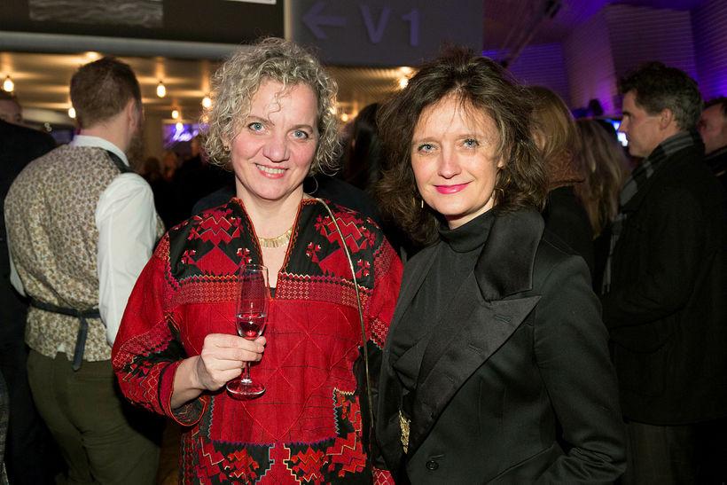 Ingibjörg Jóhannsdóttir og Marta Norðdal.