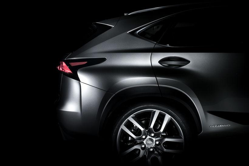 Fjórhjóladrifni sportjeppinn Lexus NX300h