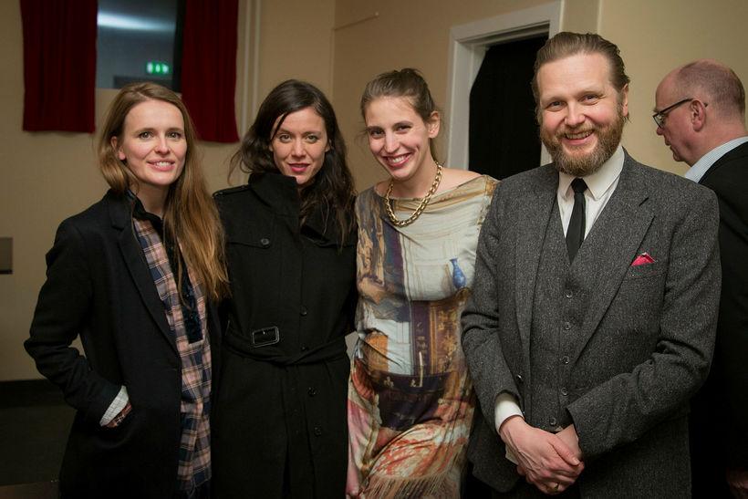 Margrét Bjarnadóttir, Kristín Anna Valtýrsdóttir, Ingibjörg Sigurjónsdóttir og Ragnar Kjartansson.