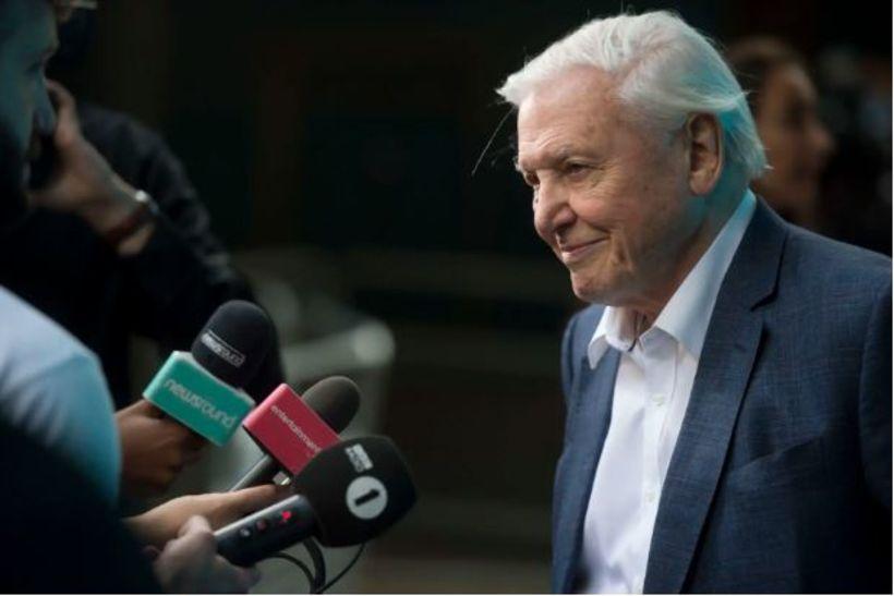 David Attenborough segir að tíminn sé að hlaupa frá okkur.