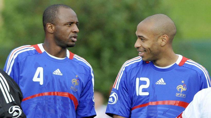 Thierry Henry og Patrick Vieira.