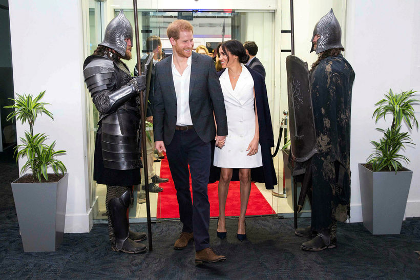 Harry og Meghan.
