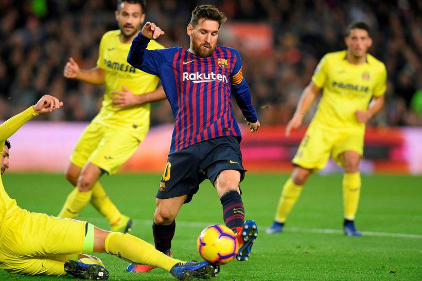 Lionel Messi varð í 5. sæti yfir bestu leikmenn heims ...