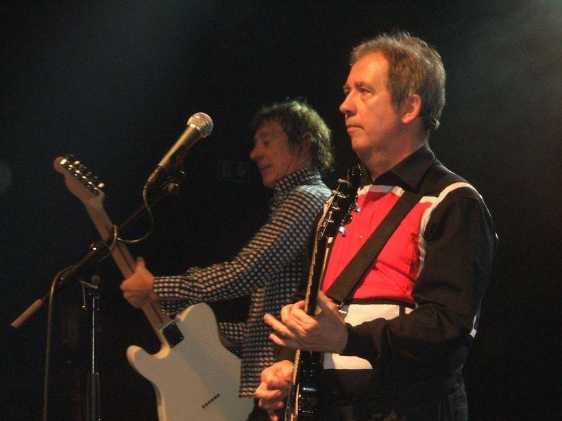 Pete Shelley á tónleikum árið 2009.