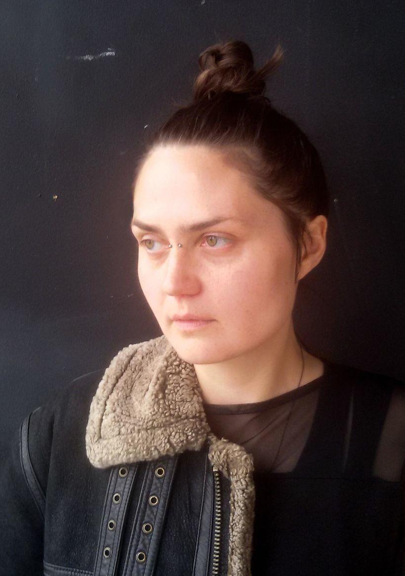 Steinunn Gunnlaugsdóttir listakona.