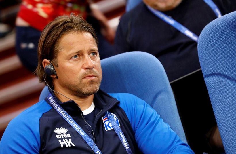 Helgi Kolviðsson er orðaður við Liechtenstein.