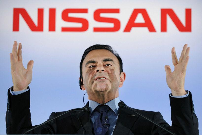 Carlos Ghosn hefur verið ákærður fyrir fjármálamisferli.