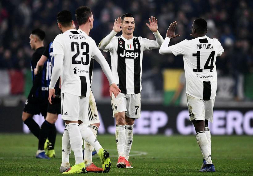 Cristiano Ronaldo segist njóta þess að vera hjá Juventus.