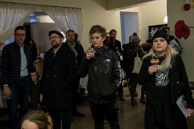 Stefán Ari Stefánsson, Páll Guðmundsson, Stefán Magni Stefánsson og Ragnheiður ...