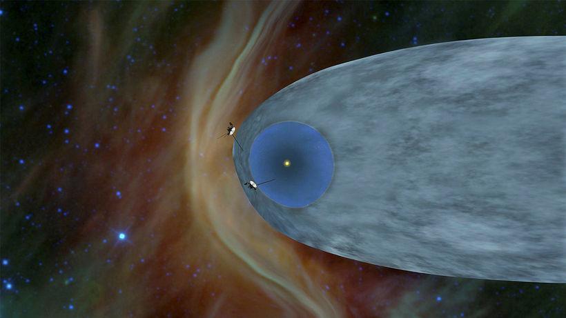 Sex ár eru síðan Voyager 1 yfirgaf sólkerfið og varð ...