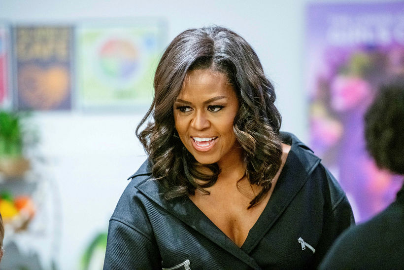 Michelle Obama er hreinskilin kona.