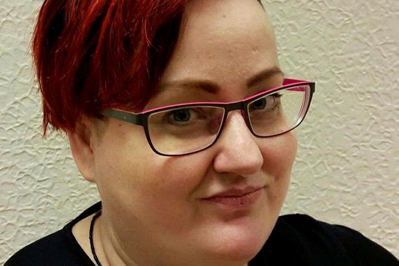 Bára Halldórsdóttir uppljóstrari.