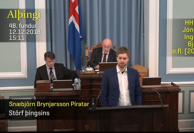 Snæbjörn Brynjarsson.