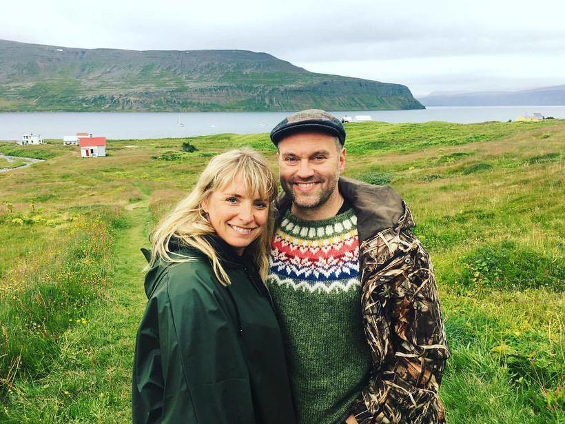Björk Eiðsdóttir og Karl Ægir Karlsson eiga von á barni.