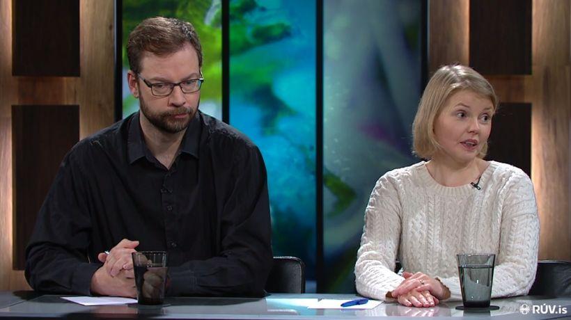 Björn Leví Gunnarsson og Steinunn Þóra Árnadóttir.