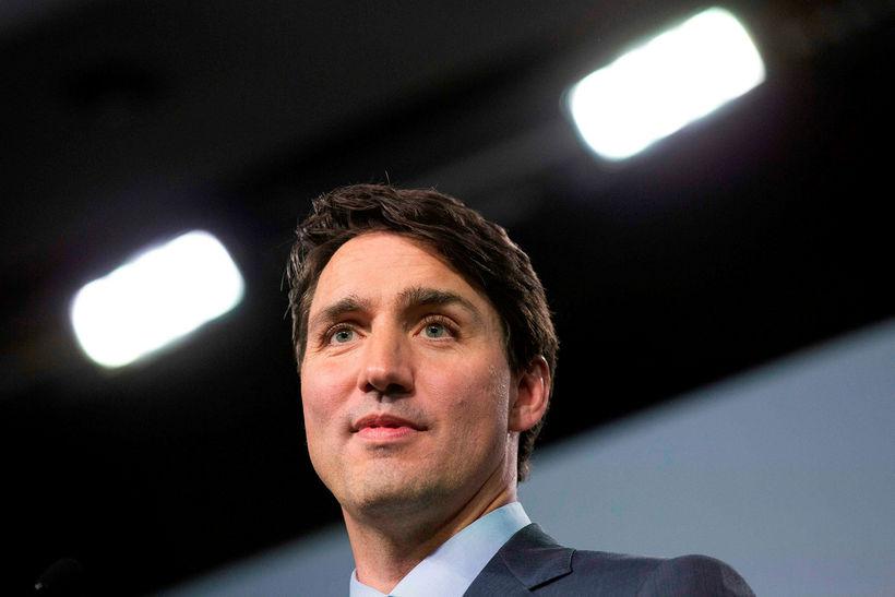 Justin Trudeau, forsætisráðherra Kanada.