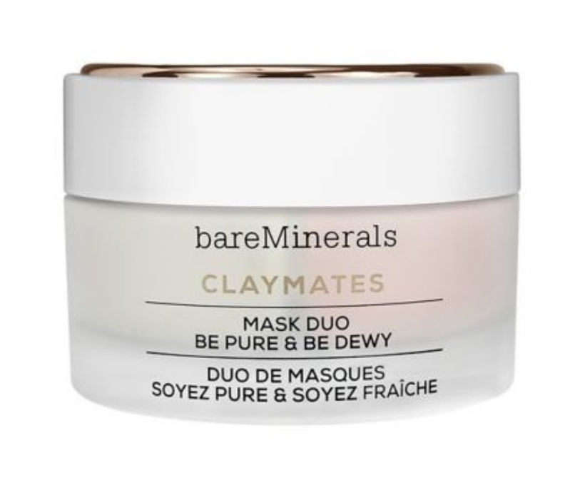 Bare Minerals ClayMates Mask Duo Be Pure & Be Dewy, ...