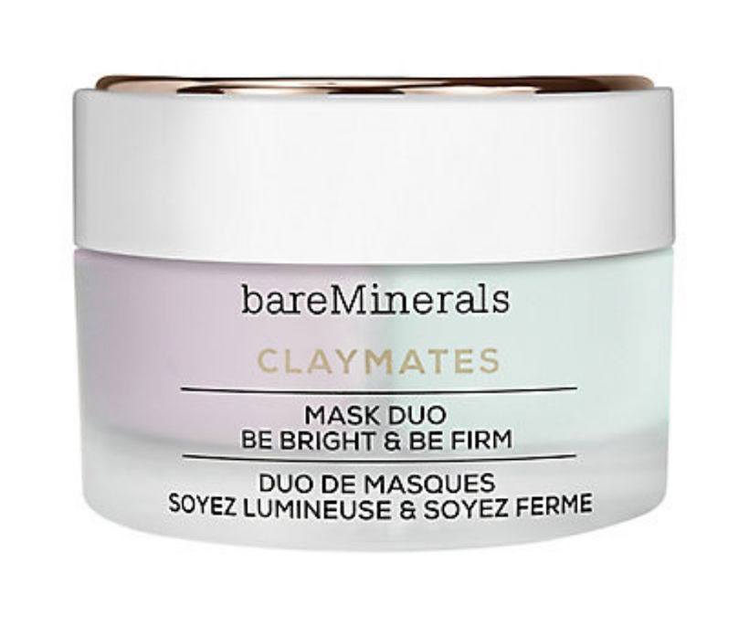 Bare Minerals ClayMates Mask Duo Be Bright & Be Firm, ...
