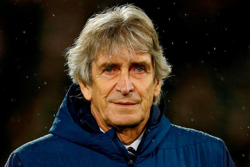 Manuel Pellegrini, knattspyrnustjóri West Ham.