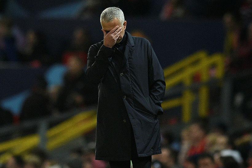 José Mourinho var rekinn frá Manchester United í gær.