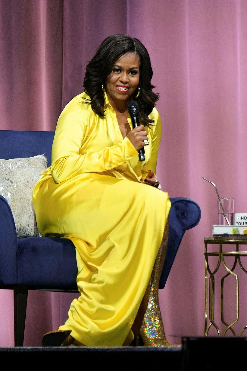Michelle Obama er ekki feimin við að segja frá því …