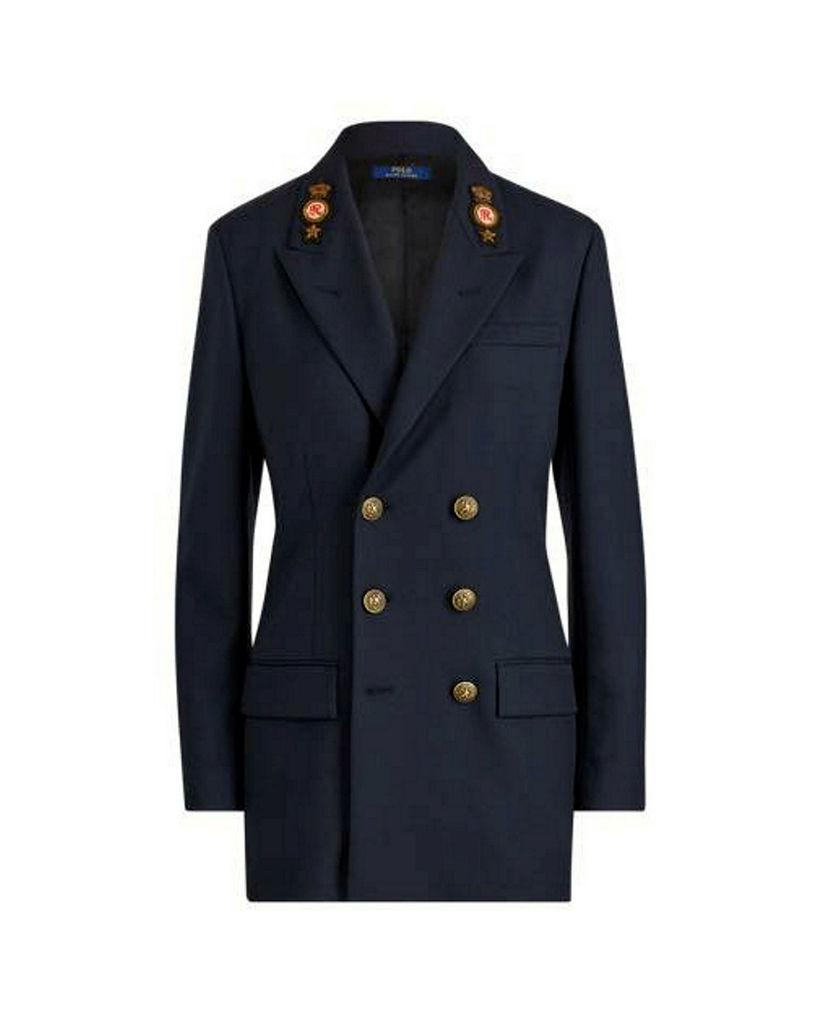 Tvíhnepptur Ralph Lauren jakki. Hann kostar 99.990 kr og fæst ...